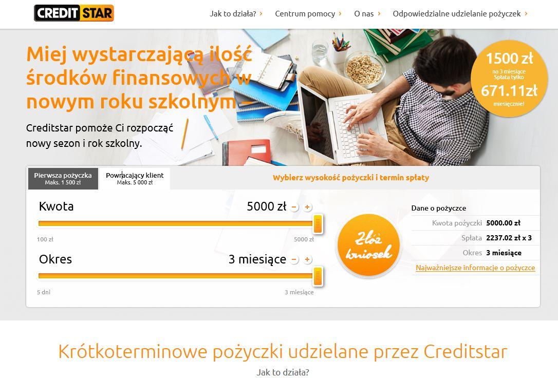 Pożyczki credit star