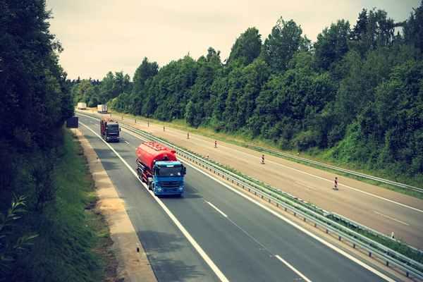 Firma transportowa w Europie